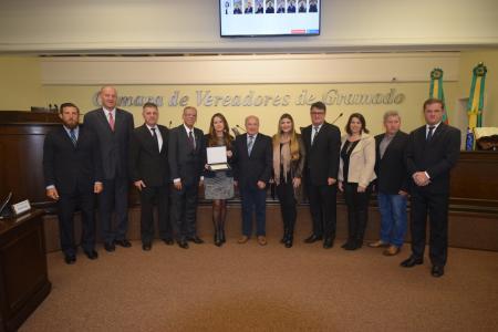 CRCRS recebe Moção pelos 70 anos