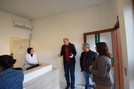 Comissão de Saúde, Educação e Meio Ambiente realiza visitas