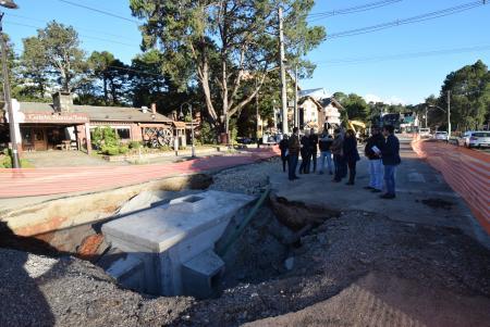 Vereadores fiscalizam a revitalização da Avenida Borges de Medeiros