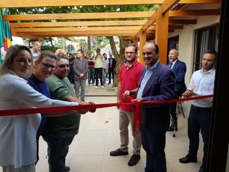 Vereadores prestigiam inauguração de salas na Escola  Henrique Bertoluci Sobrinho