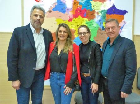 Andreia tem agenda em Porto Alegre