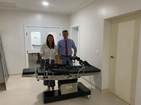 Hospital recebe equipamentos de emenda impositiva