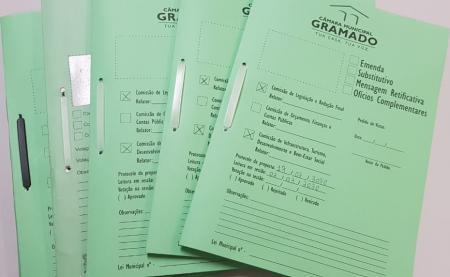 Seis projetos do Legislativo foram protocolados em 2020