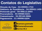 Legislativo está de prontidão para votação de projetos de apoio a comunidade