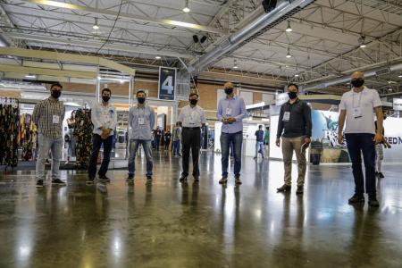 Legislativo visita estrutura da Fenim Fashion Gramado