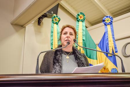 Vereadora Rosi apresenta solicitações de segurança e manutenções para Gramado